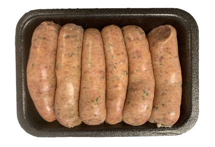 Pork Ginger and Spring Onion  Sausages